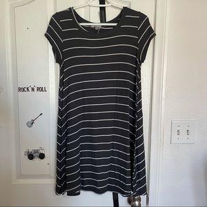 Billabong Striped T-Shirt Dress Size S